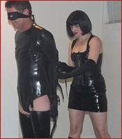 Tight Rubber Bondage